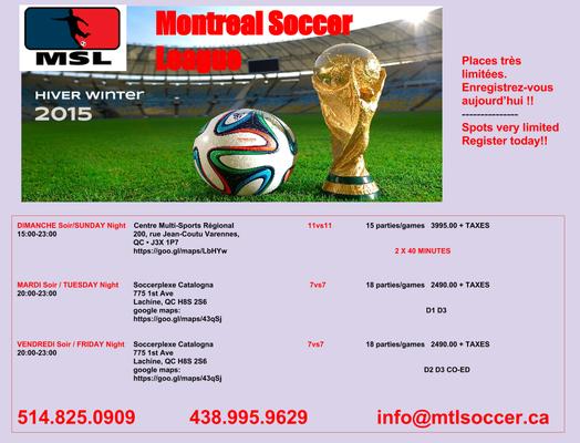 Medium winter registration 2015