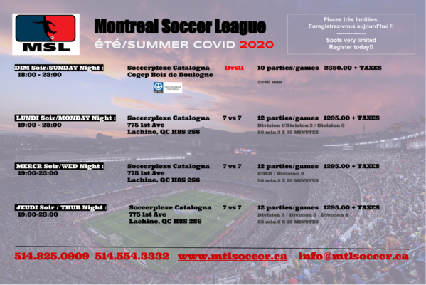 Medium summer registration 2020 covid
